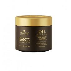 Schwarzkopf Professional Bonacure Oil Miracle Gold Shimmer Treatment - Маска Золотое Сияние с Аргановым маслом (150 мл)