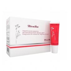 Ollin BioNika Энергетическая сыворотка против выпадения волос (10 х 15 мл)