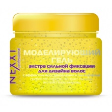 NEXXT Моделирующий гель экстра сильной фиксации для дизайна волос с эффектом восстановления и увлажнения (110 мл)