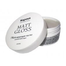 """Моделирующая паста для волос сильной фикс. """"Matt Gloss"""""""