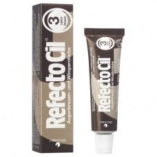 RefectoCil Краска для бровей и ресниц № 3 коричневый 15 мл