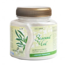 Aroma Jazz - Пилинг сухой для лица Зеленый чай 300 мл.