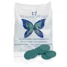 Beauty Image - Воск горячий в дисках Зеленый 1000 гр