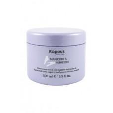 Kapous - Бархатный крем-скраб с бамбуком и маслом жожоба 500 гр