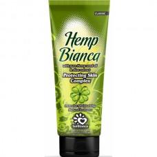 SolBianca - Крем Hemp Bianca с маслом семян конопли и экстрактом алоэ и бронзаторами 125 ml