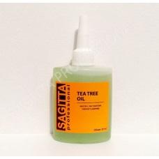 TEA TREE OIL Масло для ногтей и кутикулы SAGITTA с экстрактом чайного дерева 30 мл