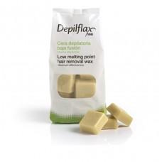 """Depilflax 100 - Горячий воск для эпиляции, в дисках """"Слоновая кость"""" Extra (1000 гр)"""
