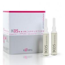 Kaaral - K05 - Anti Hair Loss Lotion. Лосьон против выпадения волос. 12 x 10 ml
