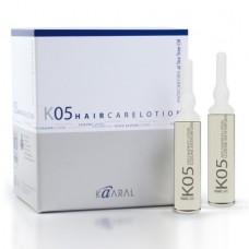 Kaaral - K05 - Anti- Dandruff Lotion. Лосьон против перхоти. 12 x 10 ml